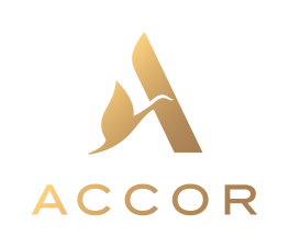Accor logo Gold gradient RVB