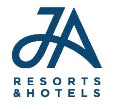 JA resorts hotels logo BLUE